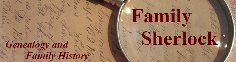 Family Sherlock - Genealogy and Family History